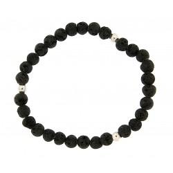Lava stone bracelet 6mm