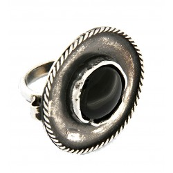 Obsidian ring reproduction