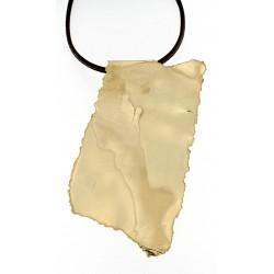 Gold cascade necklace