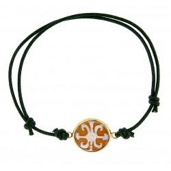 Cameo bracelet lipari's symbol