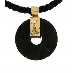 Lava stone pendant