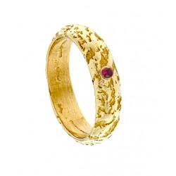 Ruby Etna Aeolian ring