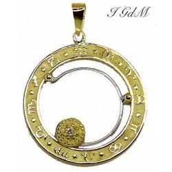 Pendant zodiac signs