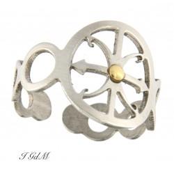 anello simbolo lipari...