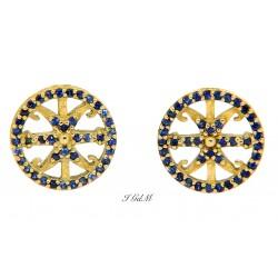 Lipari's symbol sapphires...