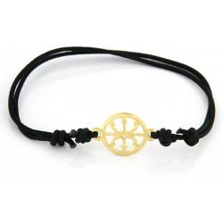 Lipari's gold  symbol bracelet