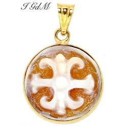Cameo Lipari's symbol pendant
