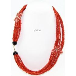 Coral bracelet necklace...